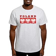 Poland Eagle Shields T-Shirt