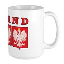 Poland Eagle Shields Mug