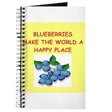 blueberries Journal
