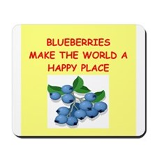 blueberries Mousepad