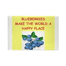 blueberries Rectangle Magnet (100 pack)