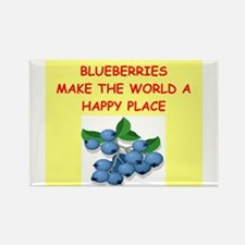 blueberries Rectangle Magnet