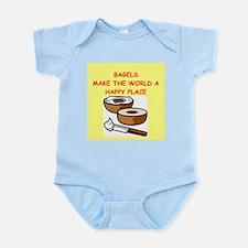 bagels Infant Bodysuit