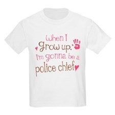 Kids Future Police Chief T-Shirt