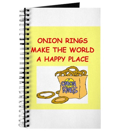 onion rings Journal