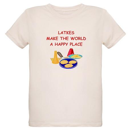 latkes Organic Kids T-Shirt