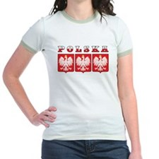 Polska Flag Eagle Shields T