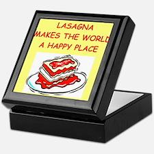 lasagna Keepsake Box