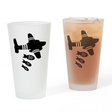 """Slaughterhouse-Five"" Drinking Glass"