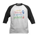 Kids Future Professor Kids Baseball Jersey