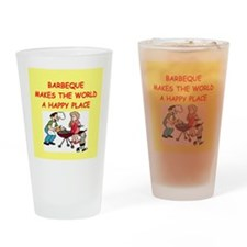 barbeque Drinking Glass
