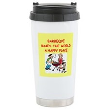 barbeque Travel Coffee Mug