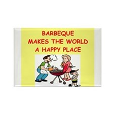 barbeque Rectangle Magnet