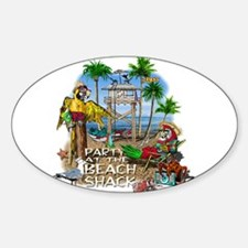 Parrots Beach Party Decal