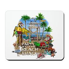 Parrots Beach Party Mousepad
