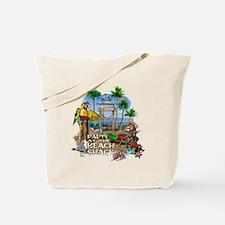 Parrots Beach Party Tote Bag
