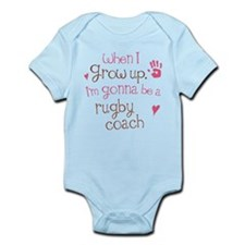 Kids Future Rugby Coach Infant Bodysuit