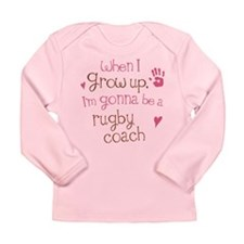 Kids Future Rugby Coach Long Sleeve Infant T-Shirt
