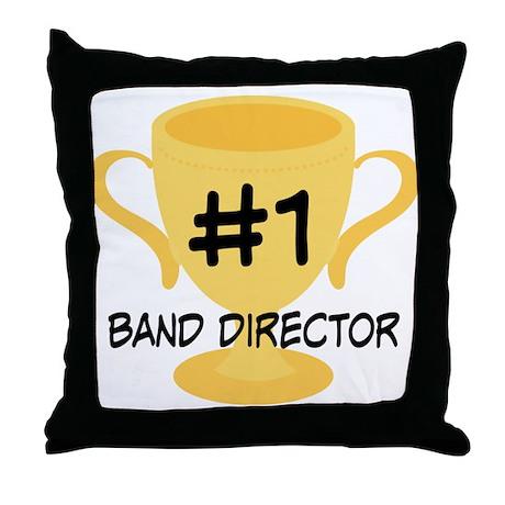 Band Director Award Gift Throw Pillow