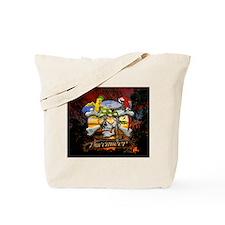 Buccaneer Parrot Pirates Tote Bag