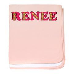 Renee baby blanket