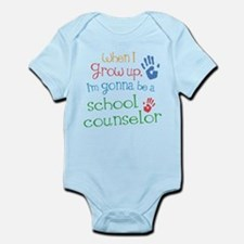 Kids Future School Counselor Infant Bodysuit