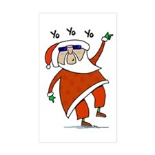 Hip Santa Decal