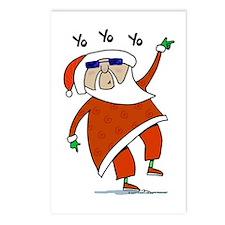 Hip Santa Postcards (Package of 8)