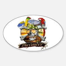 Pirate Parrots Bumper Stickers