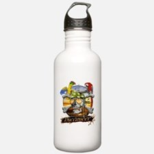 Pirate Parrots Water Bottle
