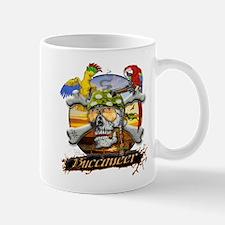 Buccaneer Parrots Mug