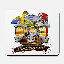 Pirate Parrots Mousepad