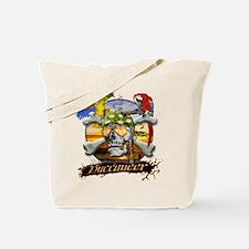 Buccaneer Parrots Tote Bag