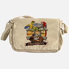 Pirate Parrots Messenger Bag