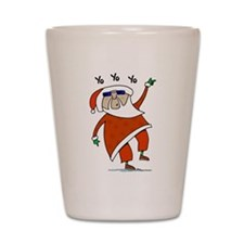 Hip Santa Shot Glass