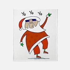 Hip Santa Throw Blanket