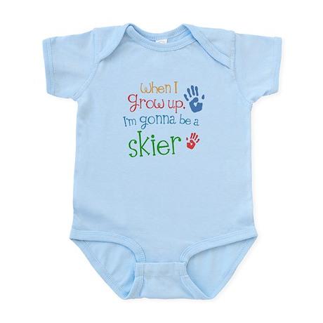 Kids Future Skier Infant Bodysuit