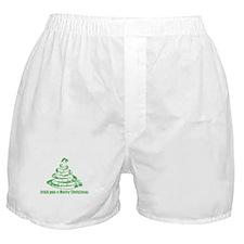 Irish you a Merry Christmas Boxer Shorts
