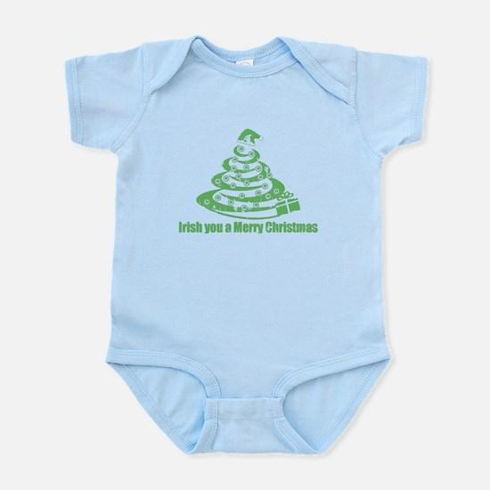 Irish you a Merry Christmas Infant Bodysuit