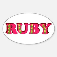 Ruby Decal