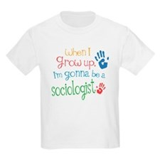 Kids Future Sociologist T-Shirt