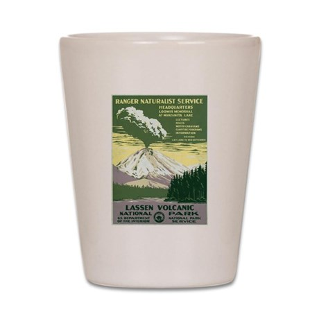 Lassen Volcanic National Park Shot Glass