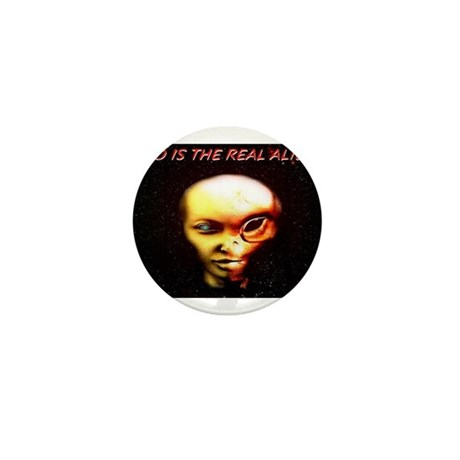 Jmcks Who Is The Real Alien Mini Button