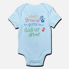 Kids Future Stock Car Driver Infant Bodysuit