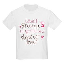 Kids Future Stock Car Driver T-Shirt