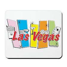 Las Vegas Retro Mousepad