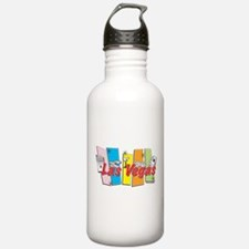 Las Vegas Retro Water Bottle