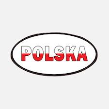 Polska Flag Patches