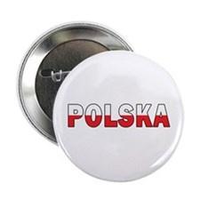 "Polska Flag 2.25"" Button"