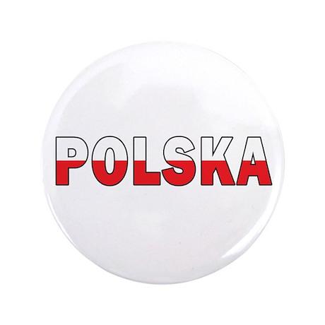 "Polska Flag 3.5"" Button"
